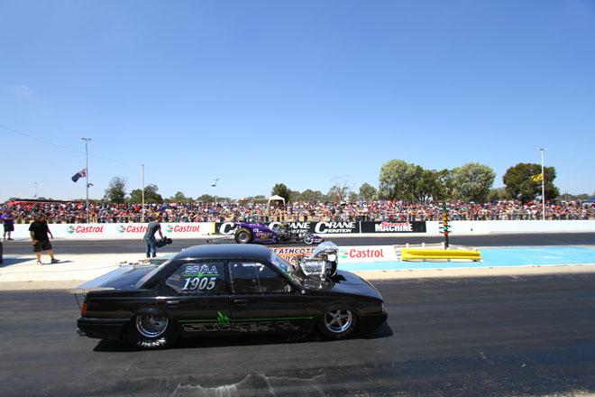 Drag Racing at Heathcote