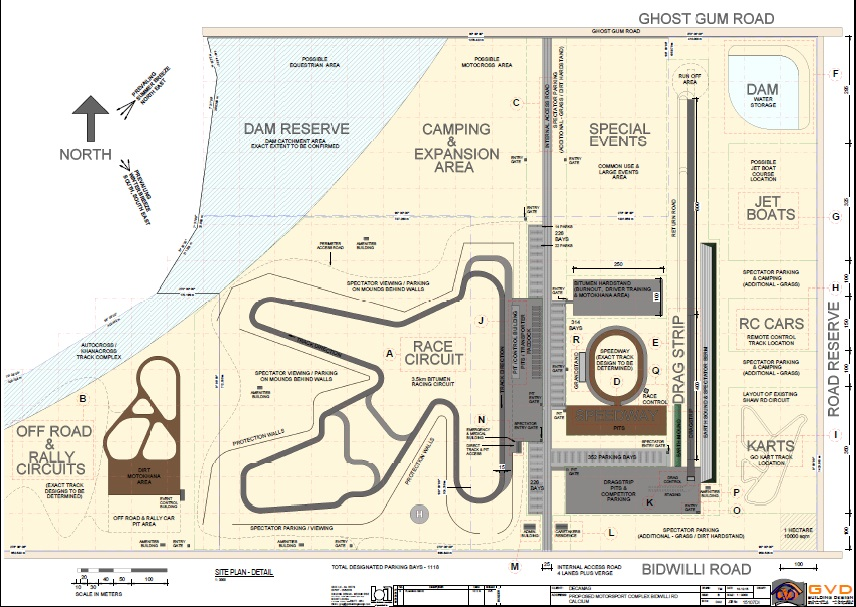 Plans for Townsville drag strip